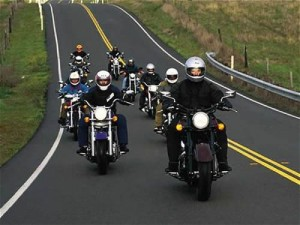 Knapp Creek Volunteer Fire Department Motorcycle Dice Run
